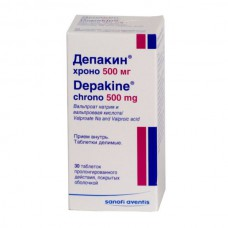 Depakine chrono (Valproic acid)