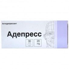 Adepress (Paroxetine) 20mg 30 tablets