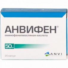 Anvifen (Aminophenylbutyric acid)