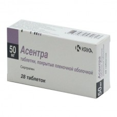 Asentra (Sertraline) 50mg 28 tablets