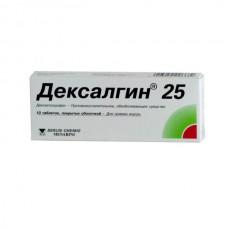 Dexalgin (Dexketoprofen) 25mg 10 tablets
