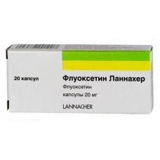 Fluoxetine 20mg 20 capsules