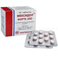 Mexidol Forte 250mg 40 tablets